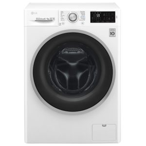 LG F4J6TM1W 8kg/5kg Direct Drive Washer Dryer 1400rpm – WHITE
