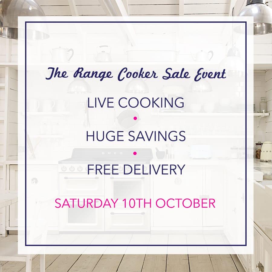 Range Cooker Sale Event   appliance City