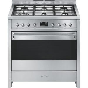 Smeg A1-9 90cm Opera Dual Fuel Range Cooker – STAINLESS STEEL