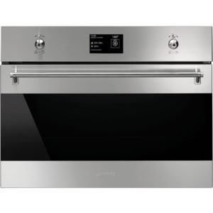 Smeg SF4395VCX 45cm High Compact Classic Steam Combination Oven – STAINLESS STEEL