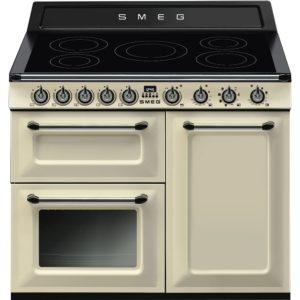 Smeg TR103IP 100cm Victoria Induction Range Cooker – CREAM
