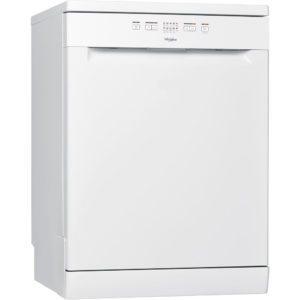 Whirlpool WFE2B19X 60cm Freestanding Dishwasher – WHITE