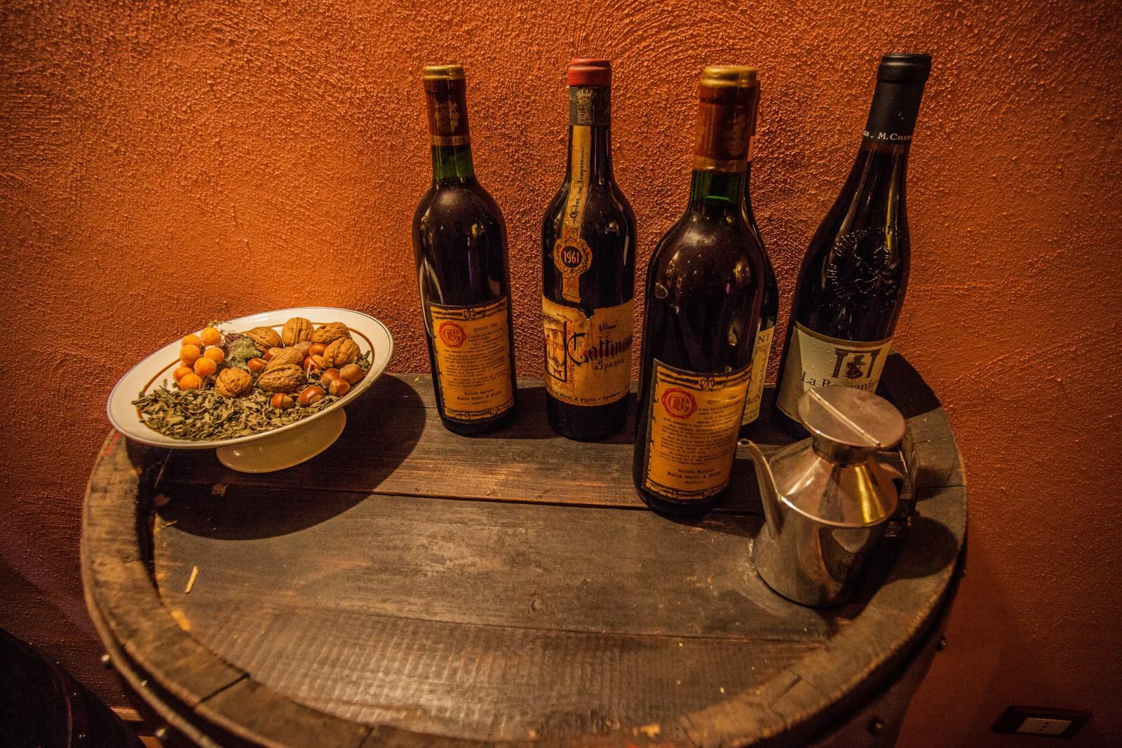 Italian Wine Bottles at Appliance City