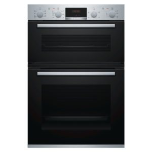 Bosch MBS533BS0B Built In Serie 4 Double Oven – STAINLESS STEEL