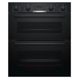 Bosch NBS533BB0B Serie 4 Built Under Double Oven – BLACK