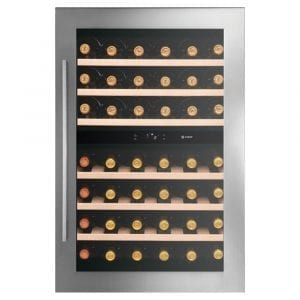 Caple WC6510 88cm Integrated In Column Dual Zone Wine Cooler – STAINLESS STEEL