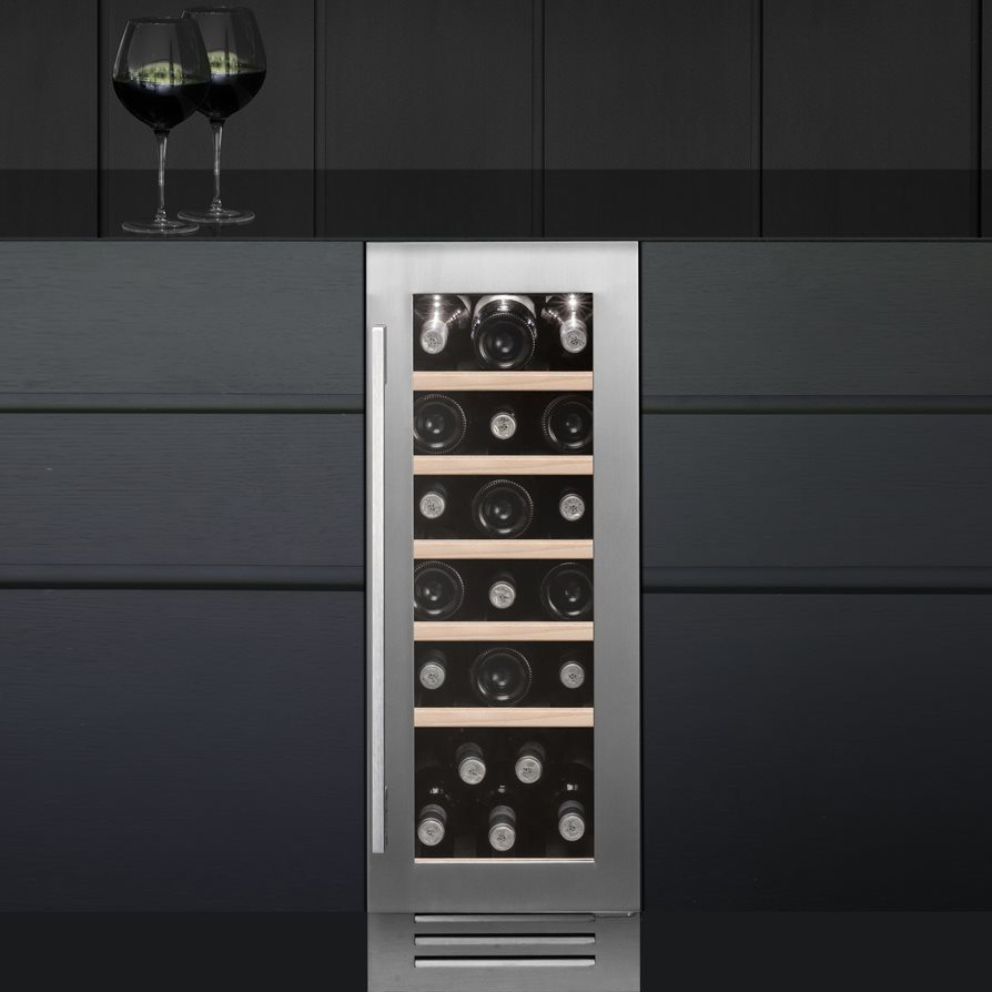 Caple Wi3123 30cm Undercounter Wine Cooler Stainless
