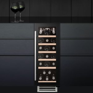 Caple WI3124 30cm Undercounter Wine Cooler – BLACK