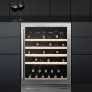 Caple WI6140 60cm Undercounter Wine Cooler – STAINLESS STEEL