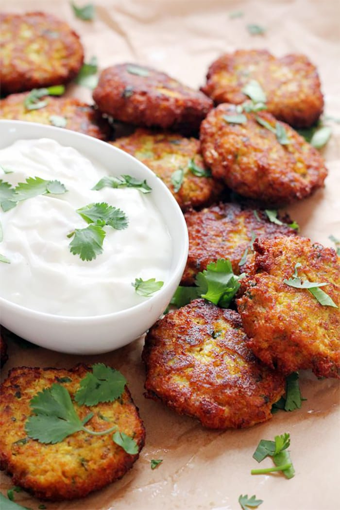 Fritter Day - Recipes - Appliance City - Curried Cauliflower Fritters