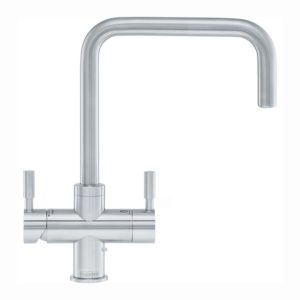 Quooker PRO3 FUSION ROUND SS 3FRRVS Round Fusion 3-in1 Boiling Water Tap – STAINLESS STEEL