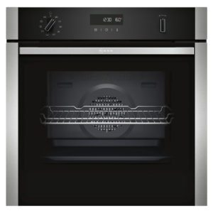 Neff B2ACH7HN0B N50 CircoTherm Pyrolytic Single Oven – STAINLESS STEEL