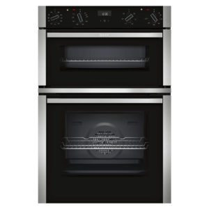 Neff U1ACI5HN0B N50 CircoTherm Built In Double Oven – STAINLESS STEEL