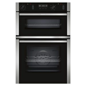 Neff U2ACM7HN0B N50 Pyrolytic CircoTherm Built In Double Oven – STAINLESS STEEL