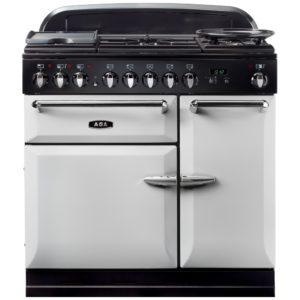 AGA Masterchef MENMSFPAS 90cm Dual Fuel Range Cooker – PEARL ASHES