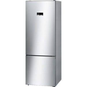 Bosch KGN56XL30 70cm Serie 4 Extra Deep Frost Free Fridge Freezer – SILVER