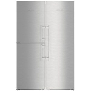 Liebherr SBSES8473 121cm Side By Side With Biofresh & Icemaker – STAINLESS STEEL