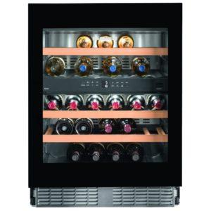 Liebherr UWTGB1682 60cm Integrated Built Under Dual Zone Wine Cooler – BLACK