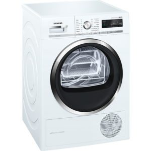 Siemens WT47W591GB 8kg IQ-500 Heat Pump Condenser Tumble Dryer – WHITE