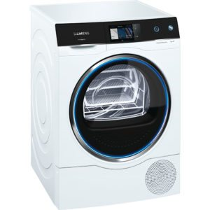 Siemens WT7XH940GB 9kg Avantgarde Heat Pump Condenser Tumble Dryer – WHITE