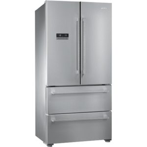 Smeg FQ55FXE1 French Style Four Door Fridge Freezer Non Ice & Water – STAINLESS STEEL