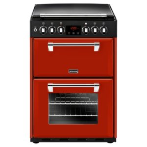 Stoves RICH600DFJAL 4724 60cm Richmond Dual Fuel Cooker – RED