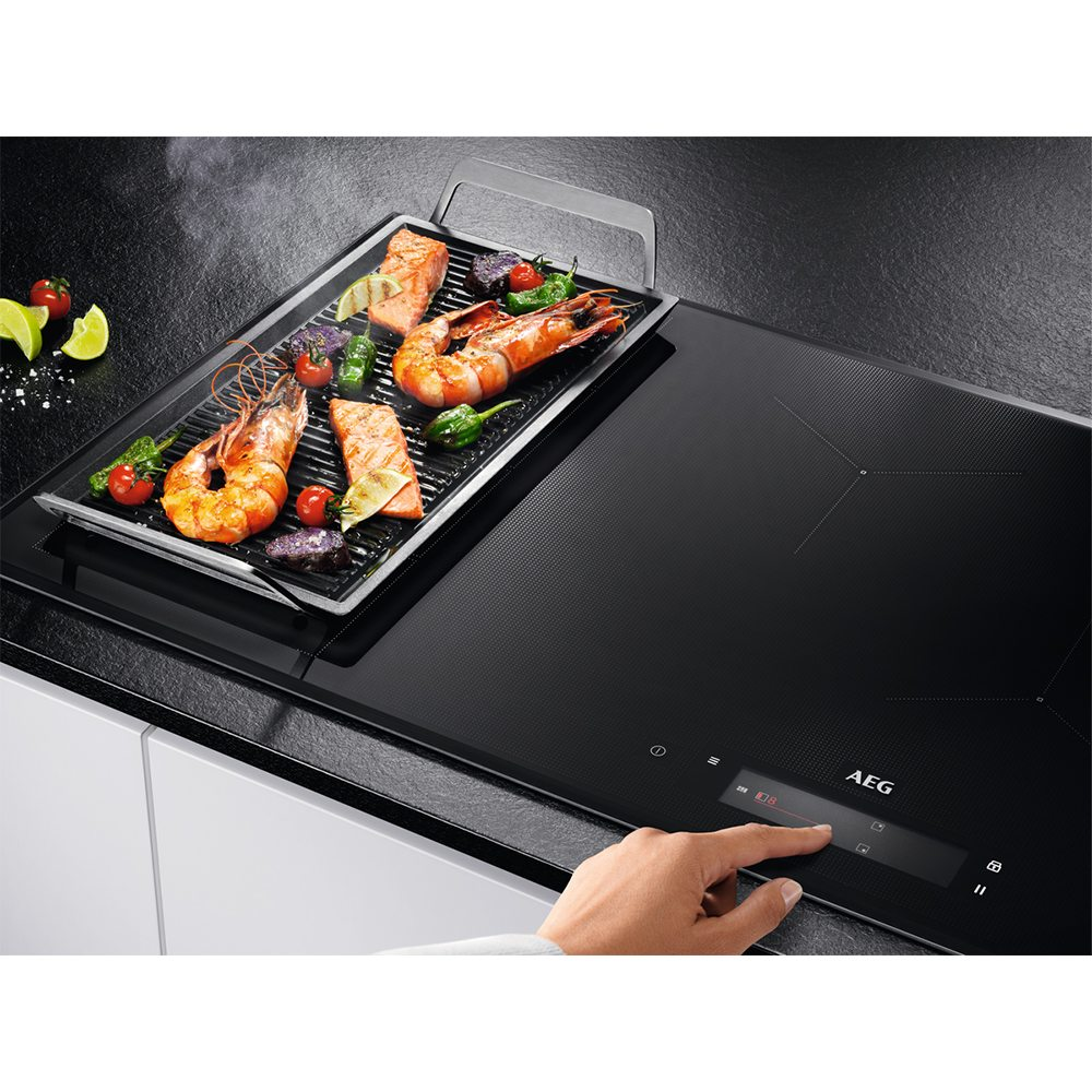 Aeg Iae84850fb 78cm 4 Zone Maxisense Induction Hob