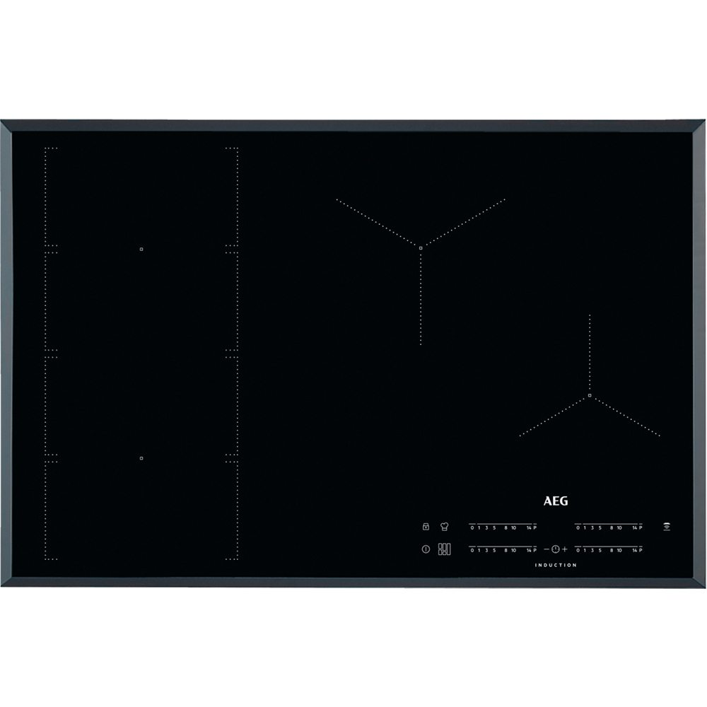 Aeg Ike84471fb 78cm 4 Zone Maxisense Induction Hob