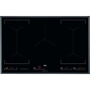 AEG IKE85651FB 81cm 5 Zone MaxiSense Induction Hob – BLACK