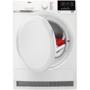 AEG T7DBG860N 8kg Heat Pump Condenser Tumble Dryer – WHITE