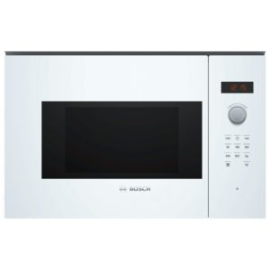 Bosch BFL523MW0B Serie 4 Built In Microwave For Wall Unit – WHITE
