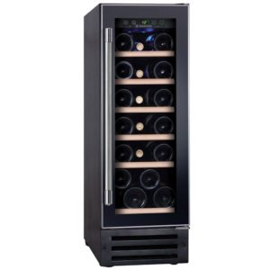 Hoover HWCB30UK/1 30cm Freestanding Under Counter Wine Cooler – BLACK
