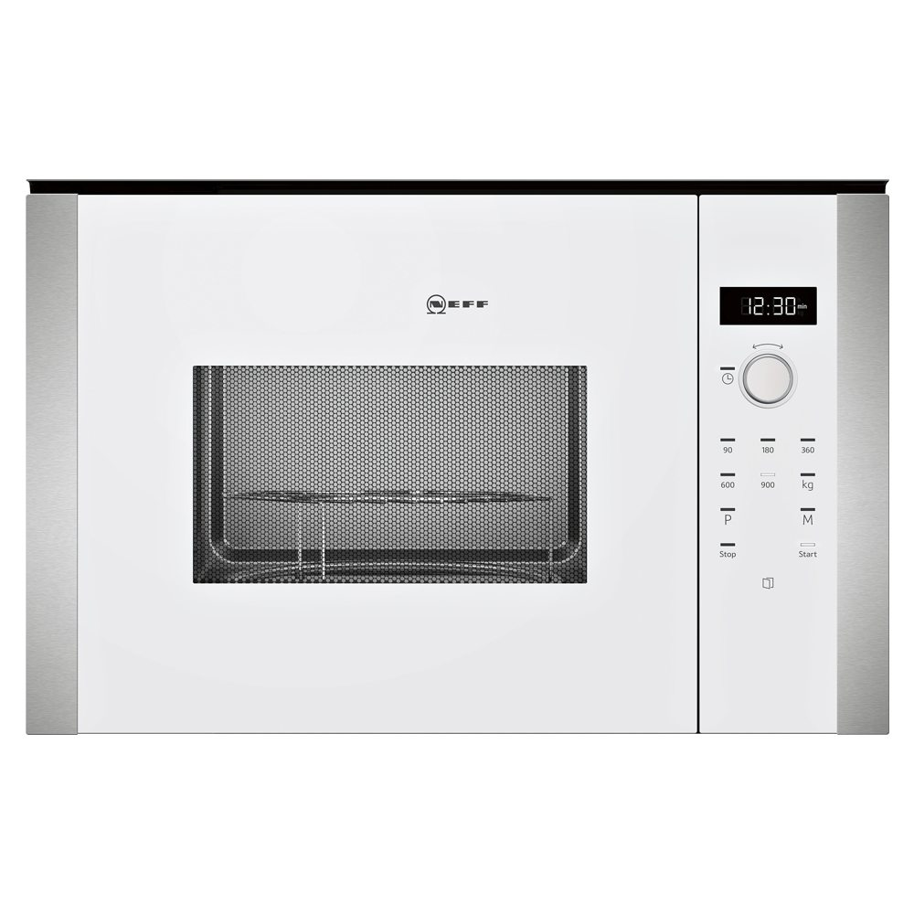 Neff HLAWD53W0B N50 Built In Microwave For Tall Housing - WHITE
