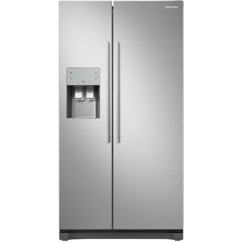 Samsung RS50N3513SA American Style RS3000 Fridge Freezer With Ice & Water - SILVER