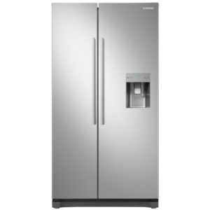 Samsung RS52N3313SA American Style RS3000 Fridge Freezer With Non Plumbed Water Dispenser – SILVER