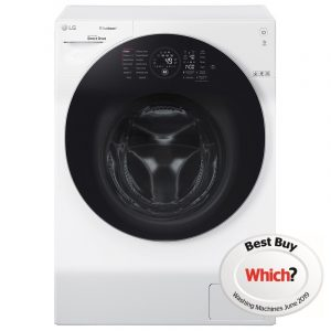 LG FH4G1BCS2 12kg Direct Drive TrueSteam Washing Machine 1400rpm – WHITE