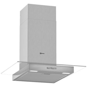 Neff D64GBC0N0B 60cm Flat Glass Chimney Hood – STAINLESS STEEL