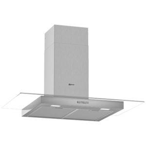 Neff D94GBC0N0B 90cm Flat Glass Chimney Hood – STAINLESS STEEL
