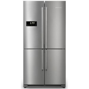 Rangemaster RSXS18SS/C French Style Four Door Fridge Freezer Non Ice & Water – STAINLESS STEEL