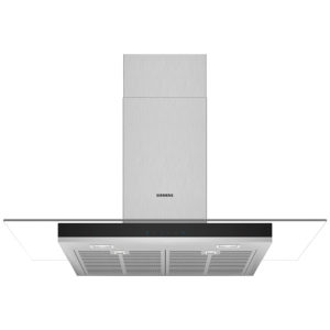 Siemens LC97GHM50B IQ-300 90cm Chimney Hood With Glass Canopy – STAINLESS STEEL