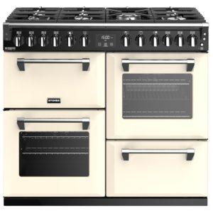 Stoves RICHMOND DX S1000DFCC 4908 Richmond Deluxe 100cm Dual Fuel Cooker – CREAM