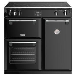 Stoves RICHMOND DX S900EIBK 4905 Richmond Deluxe 90cm Induction Range Cooker – BLACK