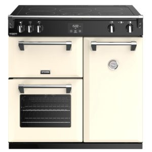 Stoves RICHMOND DX S900EICC 4906 Richmond Deluxe 90cm Induction Range Cooker – CREAM