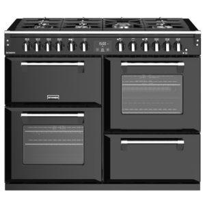 Stoves RICHMOND S1100DFBK 4466 Richmond 1100mm Dual Fuel Cooker – BLACK