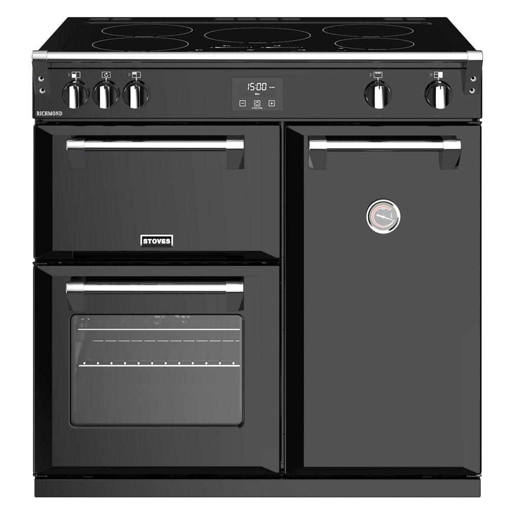 Stoves RICHMOND S900EIBK 4445 Richmond 90cm Induction Range Cooker - BLACK