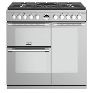 Stoves STERLING S900DFSS 4482 Sterling 90cm Dual Fuel Range Cooker – STAINLESS STEEL