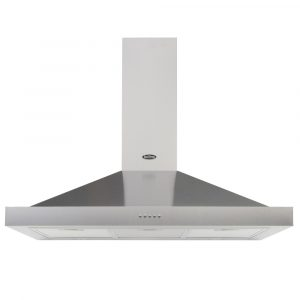 Belling COOKCENTRE110CHIMSTA 110cm Chimney Hood – STAINLESS STEEL