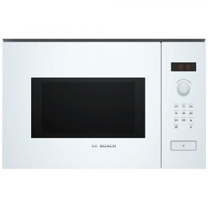 Bosch BFL553MW0B Serie 4 Built In Microwave For Tall Housing – WHITE