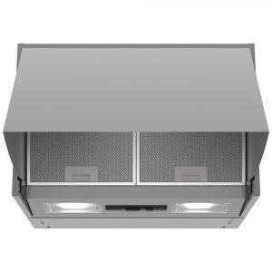 Neff D64MAC1X0B 60cm Integrated Cooker Hood – SILVER