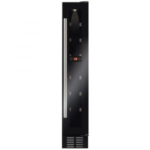 CDA FWC153BL 15cm Freestanding Under Counter Wine Cooler – BLACK
